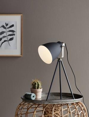 LARGO   stolná lampa Farba: Čierna