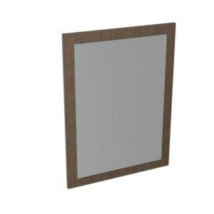 LARGO zrkadlo v ráme, 2 farby, 600x800x28mm - borovica