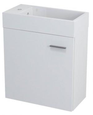 Latus IV 55570 umývadlová skrinka 49,5x50x25 cm, biela