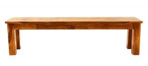 Lavica Rami 175x40 indický masív palisander - Svetlomedová