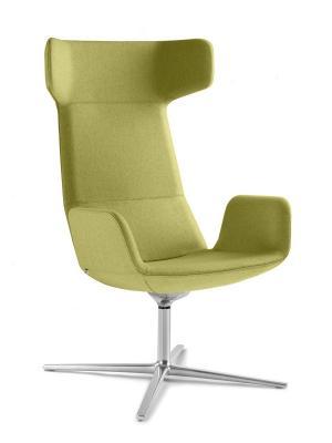 LD SEATING Designové kreslo FLEXI/XL-BR-R, F27-N6, houpací mechanika
