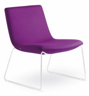 LD SEATING designové kreslo SKY K-N0, kostra bílá