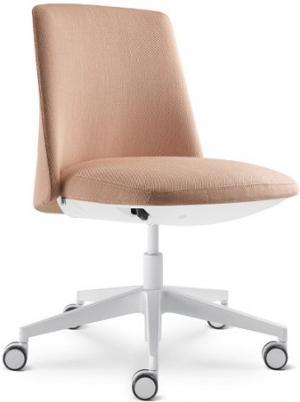 LD SEATING Kancelárske kreslo MELODY DESIGN 775-FR-N0, kríž hliník bílý