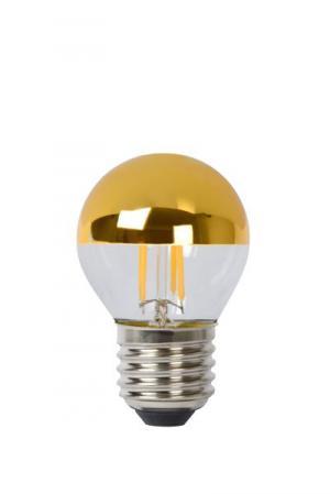 LED Ball 4W Filament zlatý vrchlík