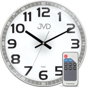 LED hodiny JVD HPC11 s diaľkovým ovládaním, 33 cm