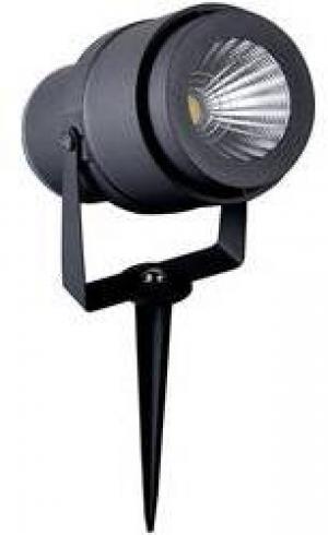 LED LED záhradné reflektor V-TAC 12 W, N/A, sivá
