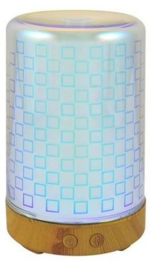 LED RGB Zvlhčovač vzduchu BONN 0,1l LED/12W/230V
