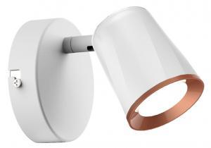 LED Solution Biele LED bodové svietidlo 6W Barva světla: Teplá biela 8250