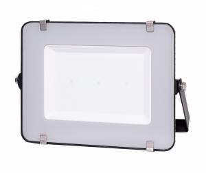 LED Solution Čierny LED reflektor 150W Premium Farba svetla: Studená biela