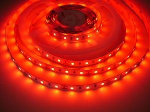 LED Solution LED pásik 12W/m 12V bez krytia IP20 Farba svetla: Červená 07708
