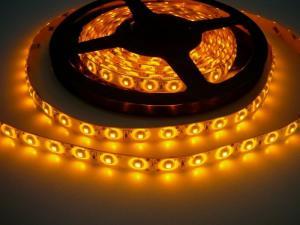 LED Solution LED pásik 4,8W/m 12V s krytiem IP54 Farba svetla: Žltá 071191
