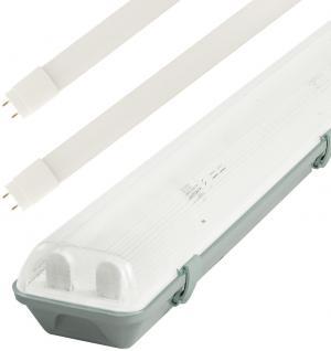 LED Solution Žiarivkové teleso 150cm + 2x LED trubice 22W Economy Barva světla: Studená biela TL3903A-2X58/B/1_6310