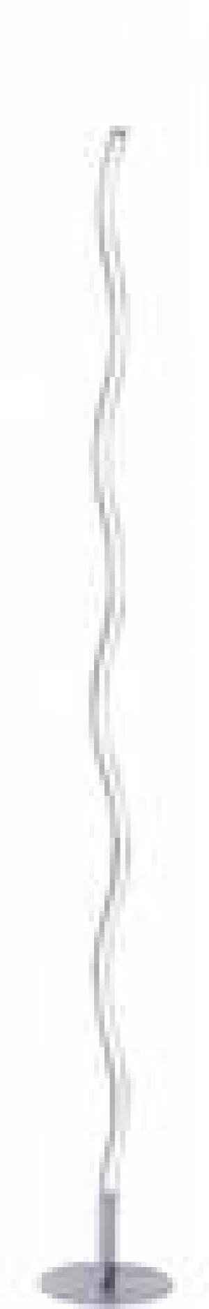 LED stojaca lampa LED LeuchtenDirekt WAVE 15168-55, oceľová