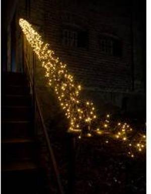 LED svetelná reťaz - chumáč Konstsmide 3863-800, vonkajšie 3863-800, 230 V, N/A, 12.2 m