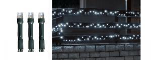 LED svietiaci reťazec, 14m, IP44, 230V KKL 200/WH Somogyi
