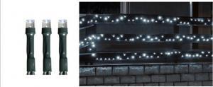 LED svietiaci reťazec, studená biela, 100 LED, stále svetlo, KKL 100/WH, Somogyi