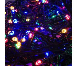 LED Vonkajšia vianočná reťaz 100xLED/8 funkcií 13m IP44 multicolor
