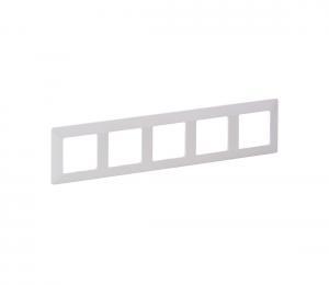 Legrand 754005 - Rámik pre spínače VALENA LIFE 5P biela