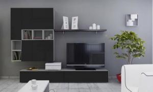 >> Lesklá obývacia stena BRILIANT II