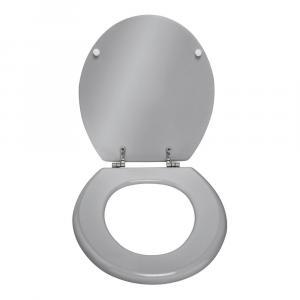 Lesklosivé WC sedadlo Wenko Prima, 41 x 38 cm