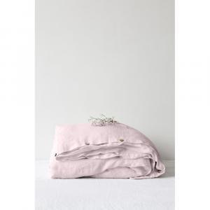 Levanduľovofialová ľanová obliečka na perinu Linen Tales, 140 x 200 cm