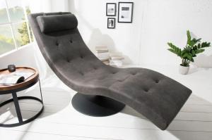 Ležadlo Relaxo sivá