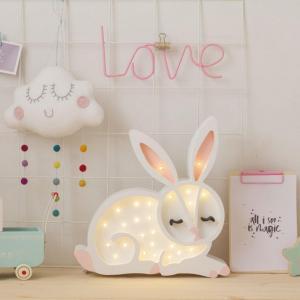 Little Lights Detská LED lampička Bunny