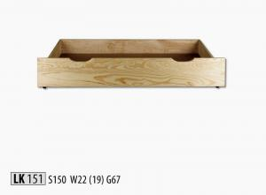 LK151 Zásuvka pod posteľ