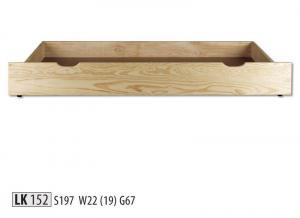 LK152 Zásuvka pod posteľ