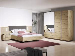 LM Manželská posteľ Penny 200x160 - dub