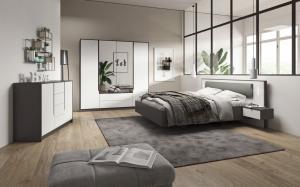 LM Manželská posteľ Saga 200x160