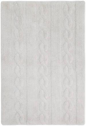 LORENA CANALS Braids Soft Pearl Grey Small, šedá