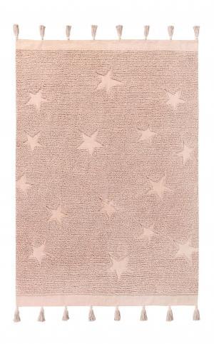 Lorena Canals koberce Ručně tkaný kusový koberec Hippy Stars Vintage Nude - 120x175 cm