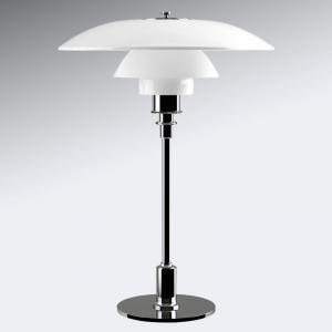 Louis Poulsen Louis Poulsen PH 3 1/2-2 1/2 stolná lampa, chróm