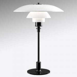 Louis Poulsen Louis Poulsen PH 3 1/2 – 2 1/2 stolná lampa čierna