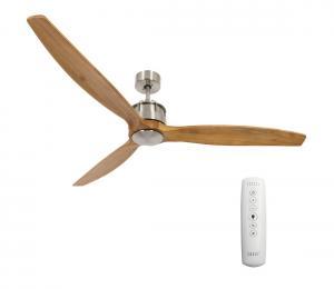 Lucci air 210506 - Stropný ventilátor AIRFUSION AKMANI chróm/hnedá
