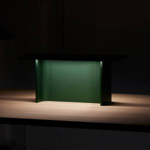Luceplan Luceplan Fienile stolná LED lampa, zelená