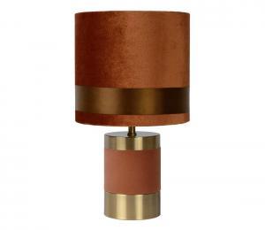 Lucide 10500/81/43 - Stolná lampa EXTRAVAGANZA FRIZZLE 1xE14/40W/230V hnedá