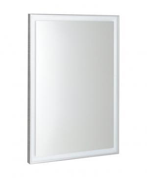 Luminar NL557 zrkadlo v ráme s LED osvetlením 60x80 cm, chróm