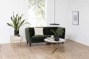 Luxusná sedačka Nixie, lesno zelená