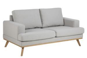 Luxusná sedačka North, svetlo šedá