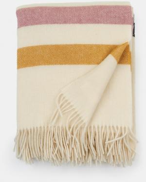 Luxusná vlnená deka Stripe smotanová