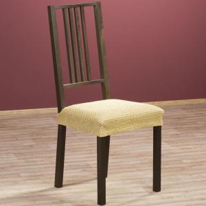 Luxusné multielastické poťahy ZAFIRO gold stoličky 2 ks 40 x 40 cm