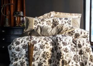 Luxusné Saténové obliečky LYDIA 4x50x70/200x220cm Issimo Home