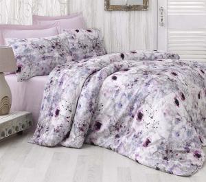 Luxusné Saténové obliečky NASRIN 4x50x70/200x220cm Issimo Home