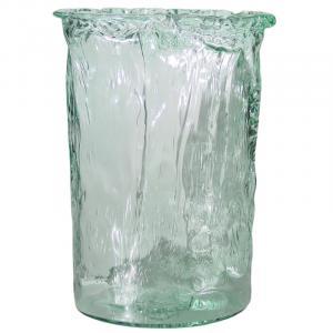 Luxusné sklenená váza 26x20cm
