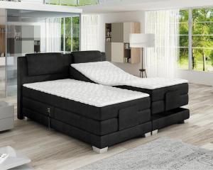 Luxusní elektronicky polohovatelná postel WAVE Rozměr: 140 x 200 cm, Skupina látek: III. skupina