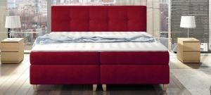 Luxusní postel MALTA Rozměr: 160 x 200 cm, Skupina látek: III. skupina