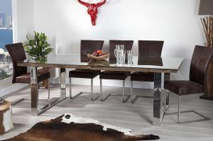 Luxusný jedálenský stôl z masívu Shark 200cm