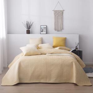 Luxusný prehoz na posteľ MOXIE marhuľový 200 x 220